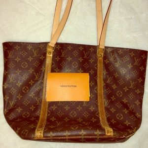Louis Vuitton Bag with Refurbished Straps